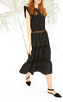 Tatyana Sleeveless Dress by ULLA JOHNSON Now Available on Moda Operandi