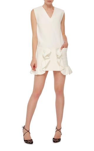 Ruffled Detail Tunic by MARNI Now Available on Moda Operandi