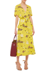 Stephanie Silk Printed Dress by A.L.C. Now Available on Moda Operandi