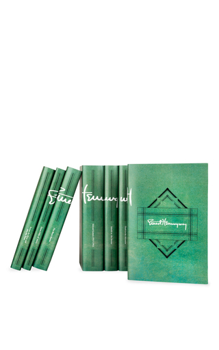 Ernest Hemingway Signature Set by JUNIPER BOOKS Now Available on Moda Operandi