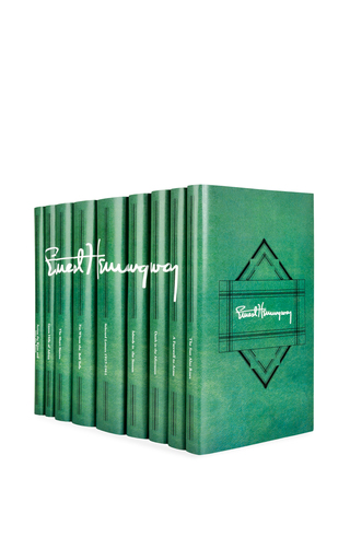 Medium juniper books multi ernest hemingway signature set