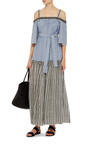 Amara Off The Shoulder Maxi Dress  by LEMLEM Now Available on Moda Operandi
