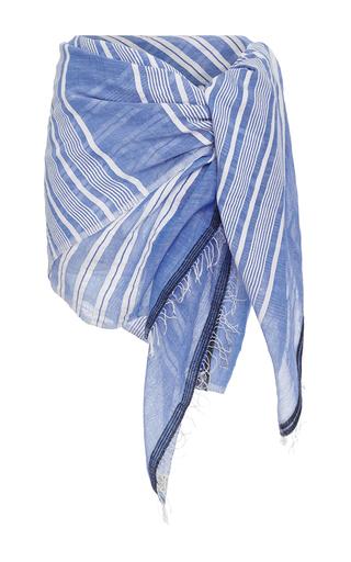 Medium lemlem stripe selina striped sarong