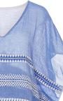 Freya Sheer Striped Caftan  by LEMLEM Now Available on Moda Operandi