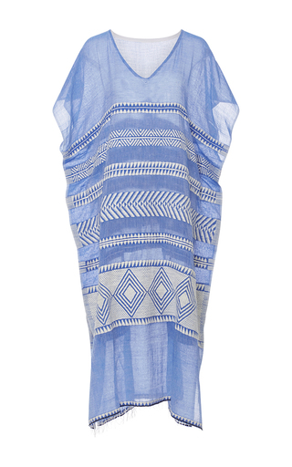Medium lemlem stripe freya sheer striped caftan