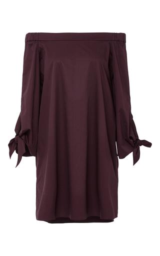 Off The Shoulder Mini Dress by TIBI Now Available on Moda Operandi