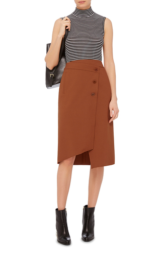 Wrap Skirt by TIBI Now Available on Moda Operandi