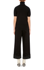 Cropped Crystal Embellished Jeans by TIBI Now Available on Moda Operandi