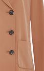 Silk Double Breasted Blazer  by TIBI Now Available on Moda Operandi