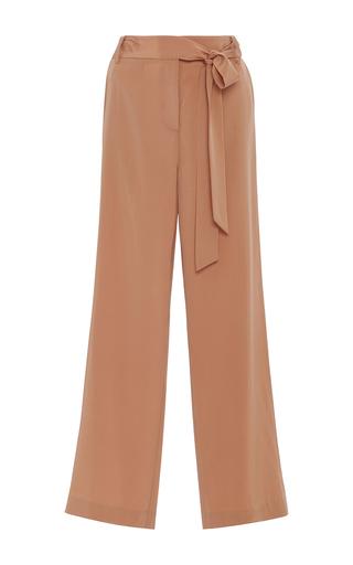 Medium tibi brown relaxed wide leg pants