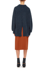 Mélange Wool Sweater by TIBI Now Available on Moda Operandi