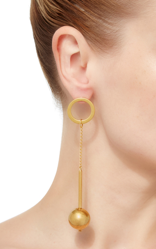Chain Drop Earring by MARNI Now Available on Moda Operandi