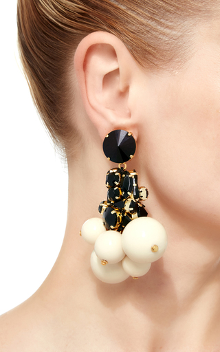 Strass Drop Earring by MARNI Now Available on Moda Operandi