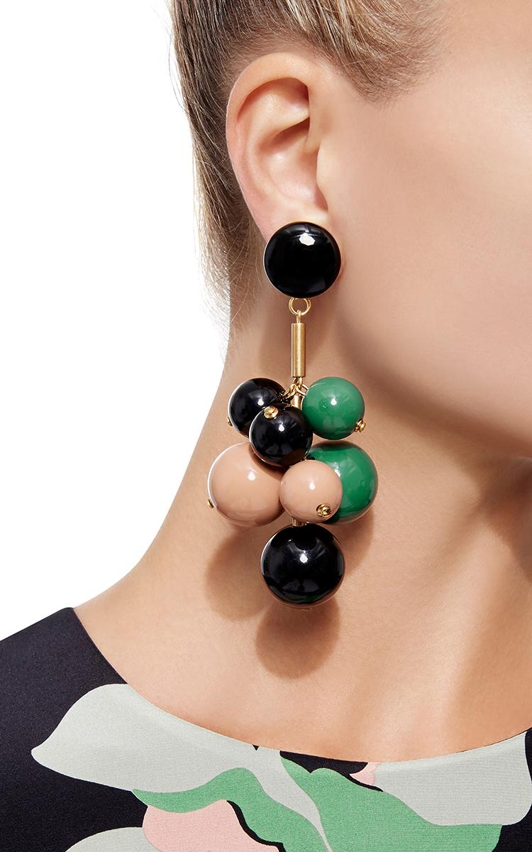 Beaded Drop Earrings By Marni Moda Operandi