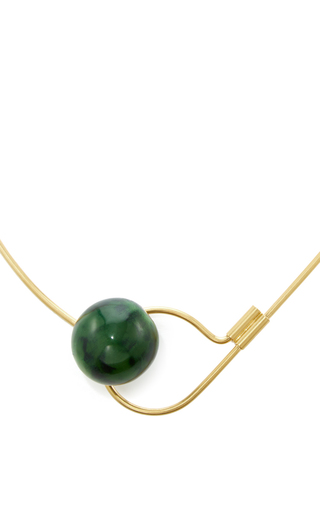 Horn Necklace by MARNI Now Available on Moda Operandi