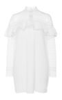 Long Sleeve Mini Dress by SELF PORTRAIT Now Available on Moda Operandi