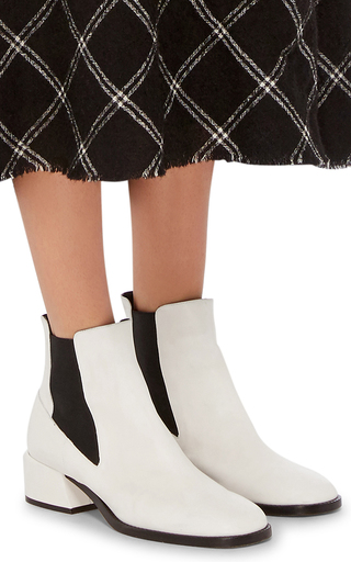 Ava Calf Leather Bootie by TIBI Now Available on Moda Operandi