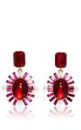 Oval Multi Stone Earrings by OSCAR DE LA RENTA Now Available on Moda Operandi