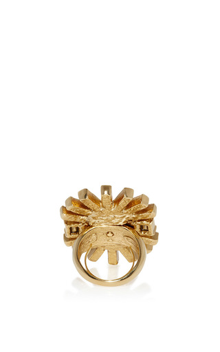 Bold Oval Multi Stone Ring by OSCAR DE LA RENTA Now Available on Moda Operandi