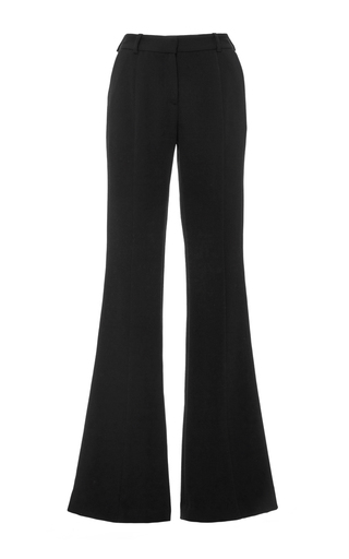 Medium prabal gurung black crepe molded seam pant