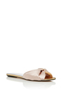 Mia Satin Slides by OSCAR DE LA RENTA Now Available on Moda Operandi