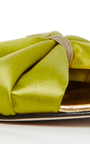 Mia Satin Slides by OSCAR DE LA RENTA Now Available on Moda Operandi