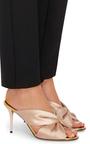 Glen Satin Mules by OSCAR DE LA RENTA Now Available on Moda Operandi