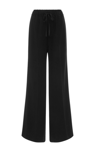 Medium nili lotan black tracy wide legged pants