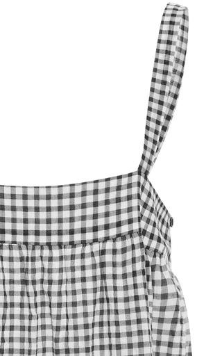 Gingham Midi Dress by JENNI KAYNE Now Available on Moda Operandi