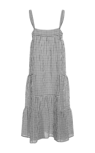 Medium jenni kayne multi gingham midi dress