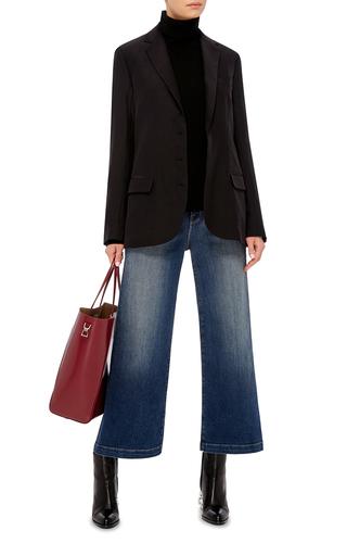Silk Boyfriend Blazer by JENNI KAYNE Now Available on Moda Operandi