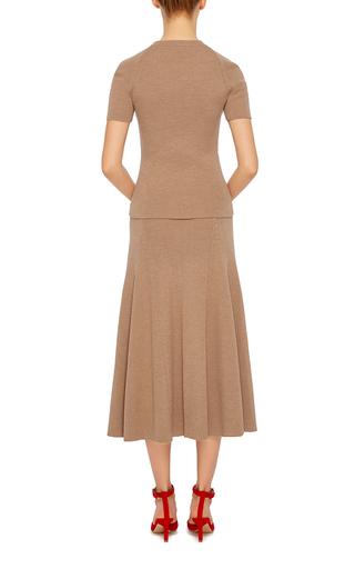 Merino Wool T Shirt by ROSETTA GETTY Now Available on Moda Operandi