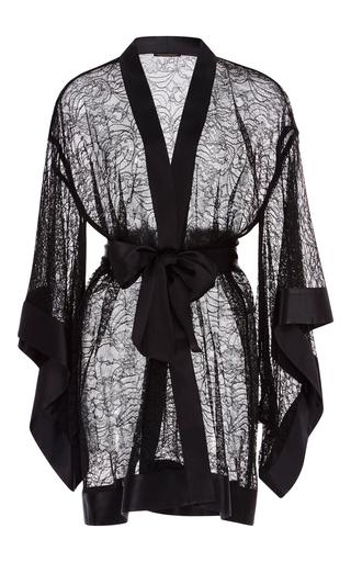 Medium kiki de montparnasse black black lace kimono
