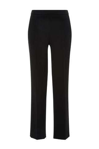Medium carolina herrera black slim leg pant