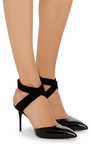 Lucrezia Wrap Pumps by GIUSEPPE ZANOTTI Now Available on Moda Operandi