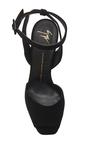 Lavinia Suede Sandals by GIUSEPPE ZANOTTI Now Available on Moda Operandi