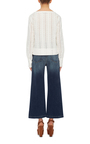 Le Long Sleeved Lace Top  by FRAME DENIM Now Available on Moda Operandi