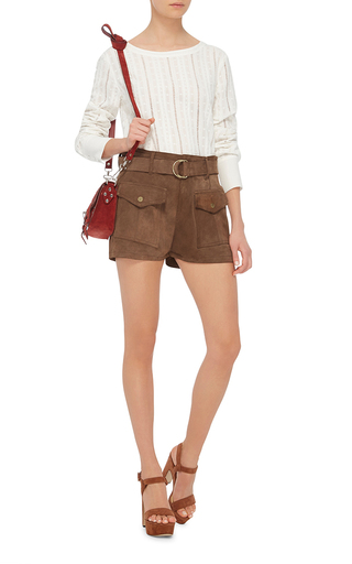 Le Patch Pocket Shorts by FRAME DENIM Now Available on Moda Operandi