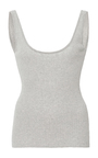 Scoop Back Ribbed Tank by FRAME DENIM Now Available on Moda Operandi