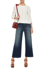 Le Capri Cropped Jeans by FRAME DENIM Now Available on Moda Operandi