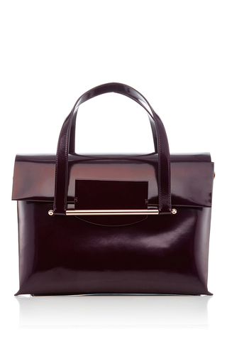 Medium delpozo burgundy shoulder bag