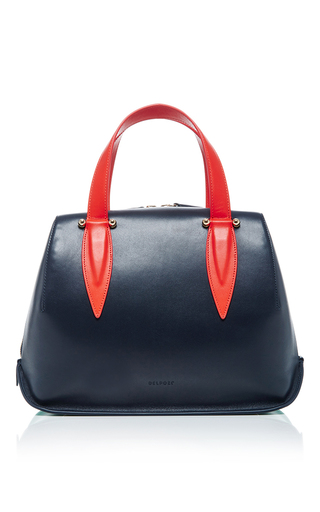 Tri Color Top Handle Bag by DELPOZO Now Available on Moda Operandi