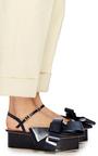 Bow Platform Sandals by DELPOZO Now Available on Moda Operandi