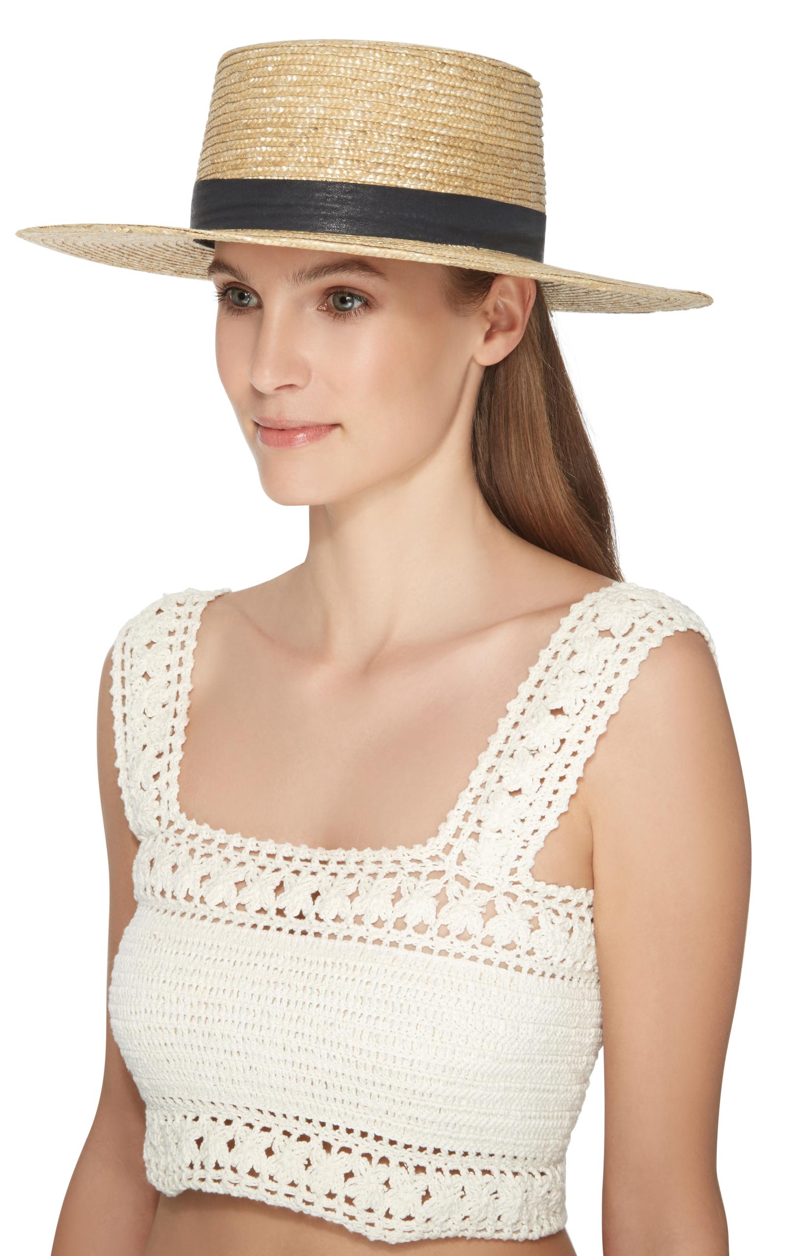 92838890fd8 JANESSA LEONE KLINT BOLERO HAT
