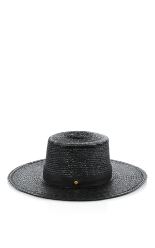 Medium janessa leone black calla bolera hat