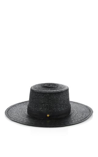 Calla Bolera Hat by JANESSA LEONE Now Available on Moda Operandi