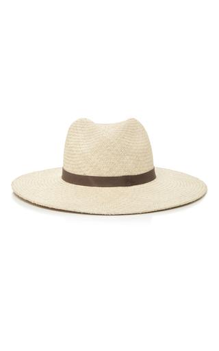 Medium janessa leone ivory gloria wide brimmed panama hat