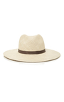 Gloria Wide Brimmed Panama Hat by JANESSA LEONE Now Available on Moda Operandi