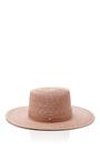Calla Bolero Hat by JANESSA LEONE Now Available on Moda Operandi