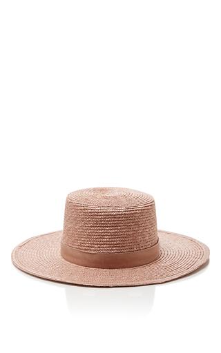 Medium janessa leone pink calla bolero hat